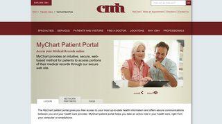 Citizens Memorial Patient Portal