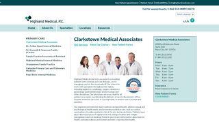 Clarkstown Medical Associates Patient Portal