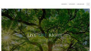 Clifton Glen Resident Portal