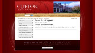 Clifton Parent Portal