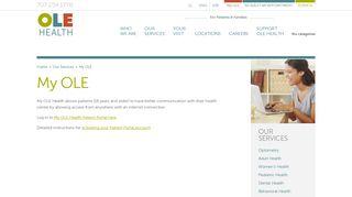 Clinic Ole Portal