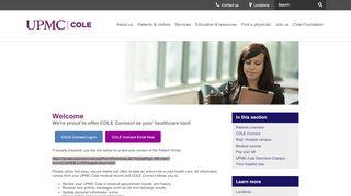 Cole Connect Patient Portal