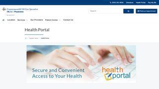 Commonwealth Ob Gyn Patient Portal