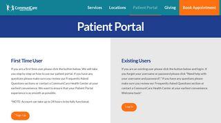 Communicare Patient Portal