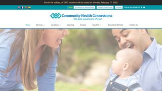 Community Health Connections Patient Portal