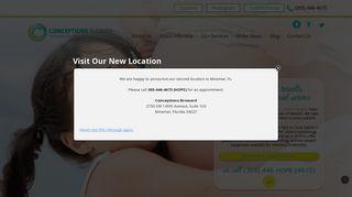 Conceptions Florida Patient Portal