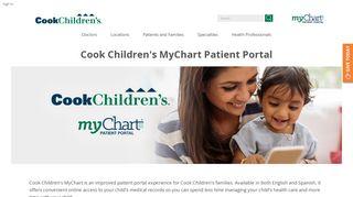 Cooks Patient Portal