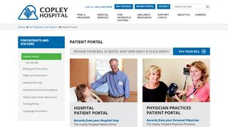 Copley Patient Portal