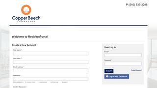 Copper Beech Radford Resident Portal