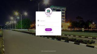 Covenant University Portal