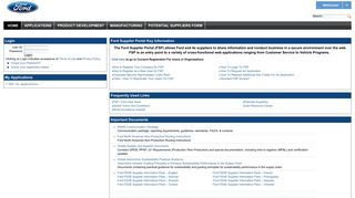 Covisint Supplier Portal
