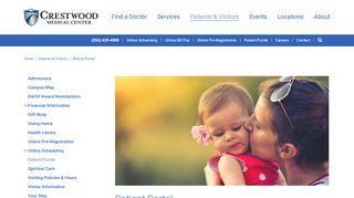 Crestwood Patient Portal