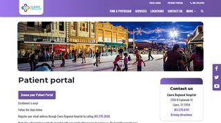 Cuero Community Hospital Patient Portal