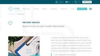 Cullman Regional Medical Center Patient Portal