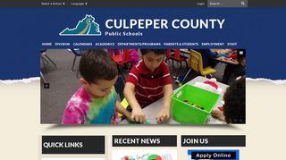 Culpeper Parent Portal