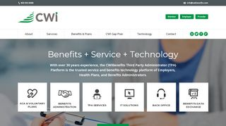 Cwi Benefits Provider Portal