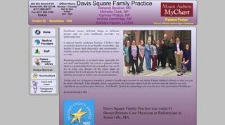 Davis Square Family Practice Patient Portal