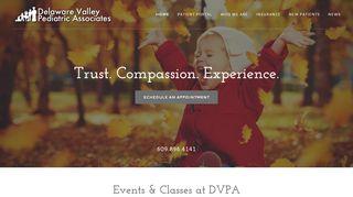 Delaware Valley Pediatrics Patient Portal