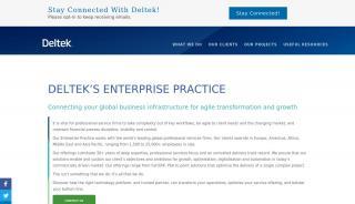 Deltek Enterprise Portal