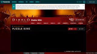 Diablo 3 Puzzle Ring Portal