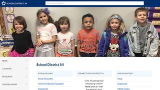 District 54 Infinite Campus Portal