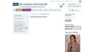 Dkh Patient Portal