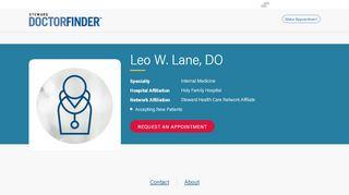 Dr Leo Lane Patient Portal