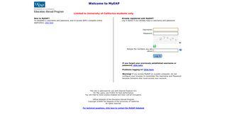 Eap Student Portal