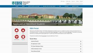 Ebonyi State University Portal