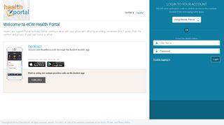 Eclinicalweb Patient Portal