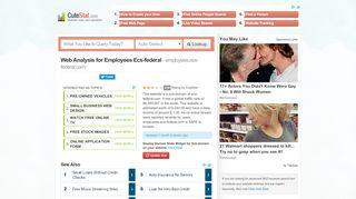 Ecs Federal Employee Portal