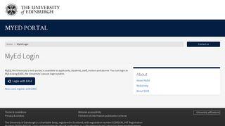 Edinburgh Student Portal