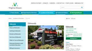 Edmonds Family Medicine Portal