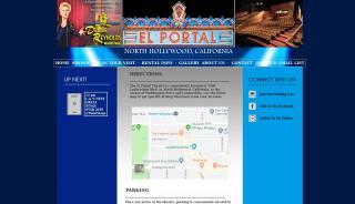 El Portal Theatre Parking