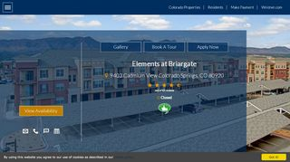 Elements At Briargate Resident Portal
