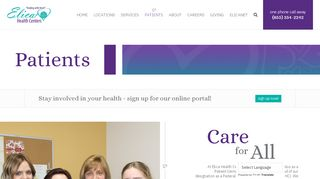Elica Health Patient Portal