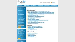 Empire Blue Cross Blue Shield Provider Portal