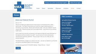 Enfield Medical Associates Patient Portal