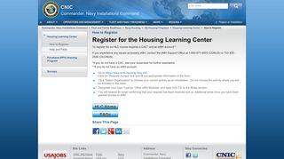 Enterprise Military Housing Portal