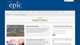 Epic Parent Portal