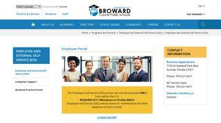 Erp Portal Broward Schools