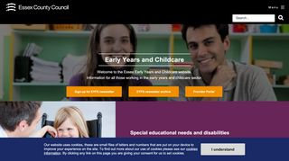 Essex Early Years Portal