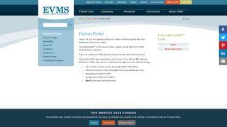 Evms Patient Portal