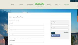 Evolve Allendale Resident Portal