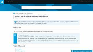 Facebook Hotspot Captive Portal
