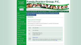 Family Practice Group Patient Portal