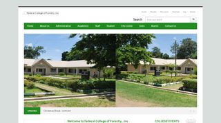 Federal College Of Forestry Jos Portal