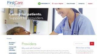 First Care Provider Portal