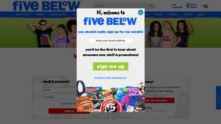 Five Below Employee Portal