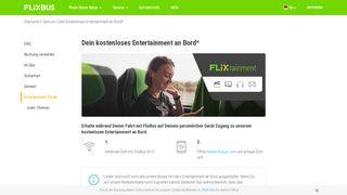 Flixbus Portal